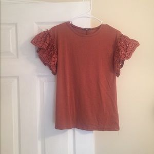 She + sky boutique top size small